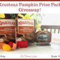 Krusteaz Pumpkin Prize Pack Giveaway! #Krusteaz