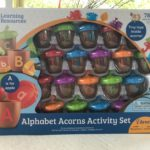 Learning Resources Alphabet Acorns Perfect for Teaching #MegaChristmas17