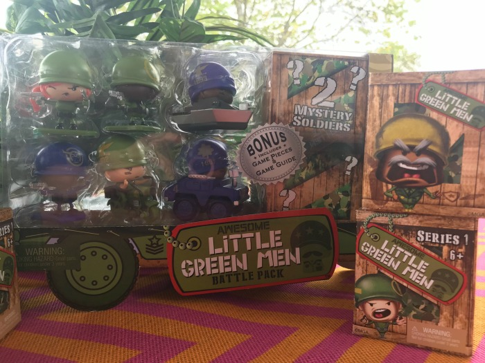 Awesome Little Green Men Battle Toys Provides Hours of Fun and Entertainment