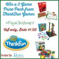 #Win a 3 Game Prize Pack from Think Fun Games