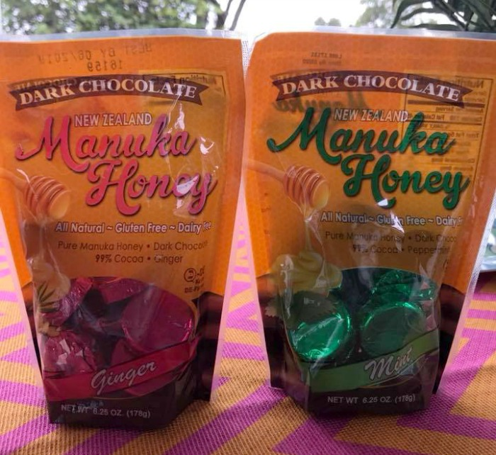 Manuka Honey Dark Chocolate Ginger and Mint
