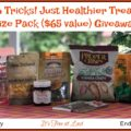 Win a No Tricks! Just Healthier Treats Prize Pack ($65 value)! #ManukaHealth #ShopPRI