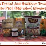 Win a No Tricks! Just Healthier Treats Prize Pack ($65 value)! #ManukaHealth #ShopPRI