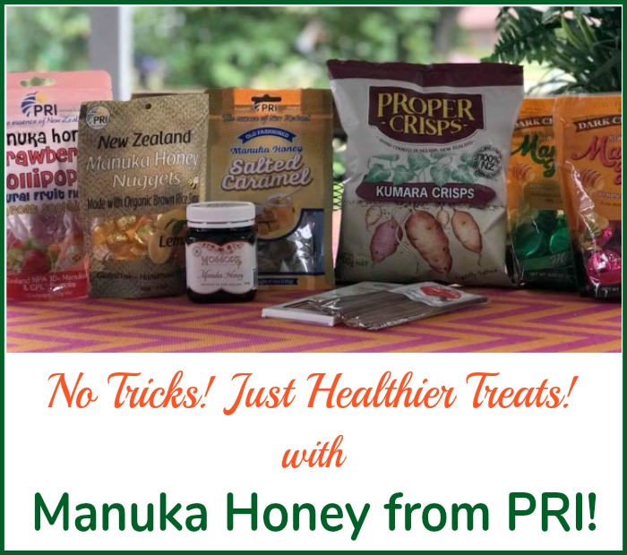 No Tricks! Just Healthier Treats with PRI's Manuka Honey Treats! #ManukaHealth #ShopPRI