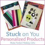 Stuck on You Personalized Products Make Perfect Holiday Gifts #MegaChristmas17