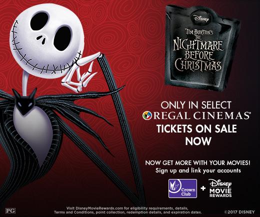 The Nightmare Before Christmas - Returns to Regal Cinemas this ...