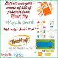 #Win $50 Gift Certificate from Teach My