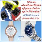 #Win an Armitron Watch of your Choice #MegaChristmas17