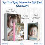 #Win a $75 TreeRing Memories GC! #MegaChristmas17