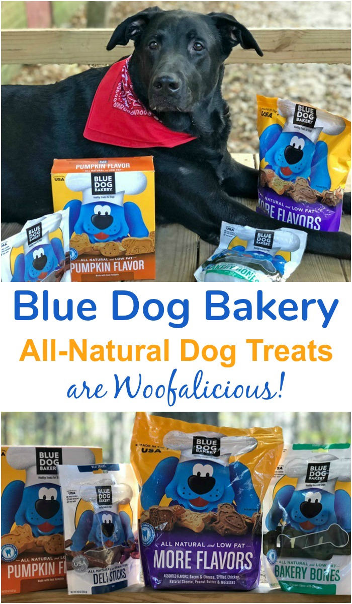 Blue Dog Bakery All-Natural Dog Treats are Woofalicious