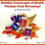 Holiday Cornucopia of Health Vitamin Pack Giveaway! #SuperiorSource