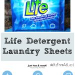 Life Detergent Laundry Sheets #MegaChristmas17