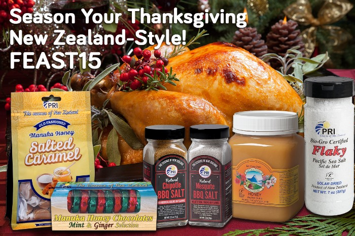 Season Your Thanksgiving Feast with Delicious, Healthy Flavors of #ManukaHealth and #ShopPRI