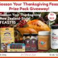 Season Your Thanksgiving Feast Prize Pack Giveaway! #ManukaHealth #ShopPRI