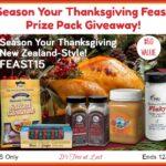 Season Your Thanksgiving Feast Prize Pack Giveaway! #ManukaHealth #ShopPRI