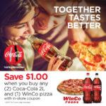 Save $1 When Purchasing Coca-Cola and WinCo Pizza #WinCoPizzaNight