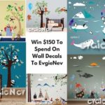 $150 Evgie Wall Decals Giveaway