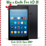 Enter Here to #Win a Kindle Fire HD 8 Tablet equipped with Alexa
