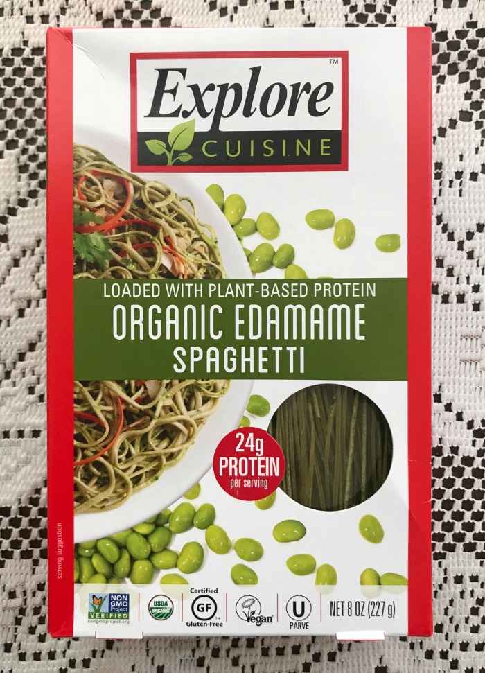 Explore Cuisine Organic Edame Spaghetti