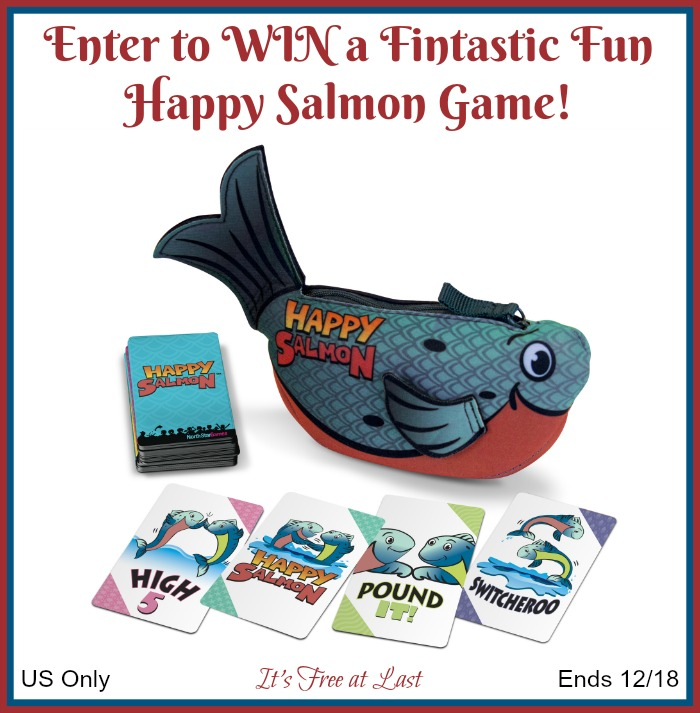 Happy Salmon Giveaway button