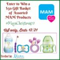 #Win a MAM Baby Gift Basket!