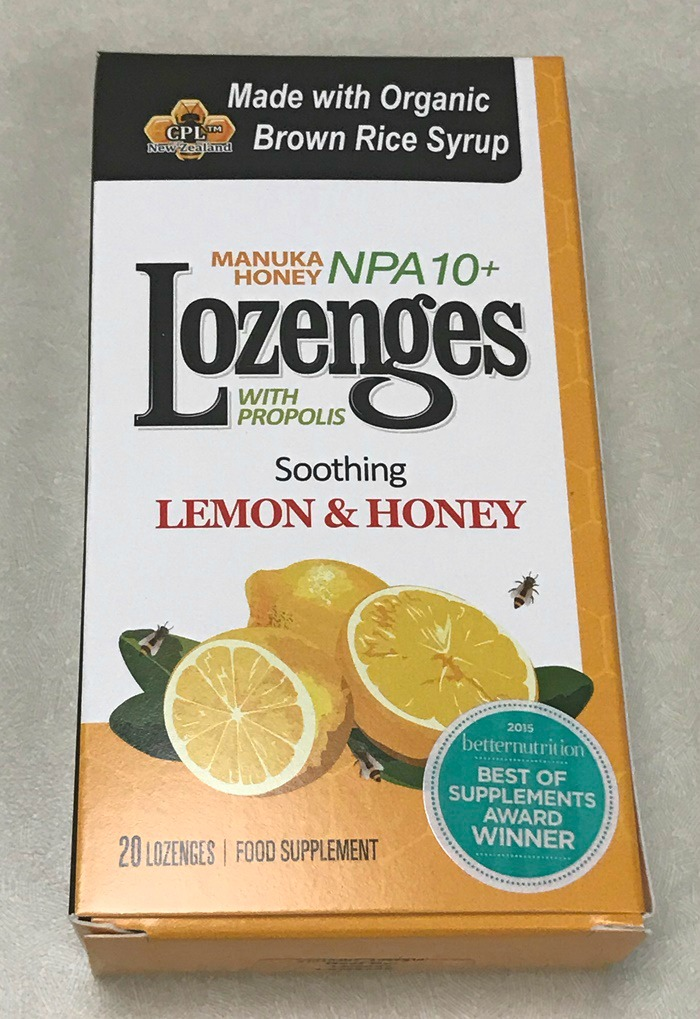 Manuka Honey Lozenges Lemon and Honey