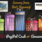 Jump Start Your January with this $50 Amazon or Paypal Giveaway #JumpStartJanuary