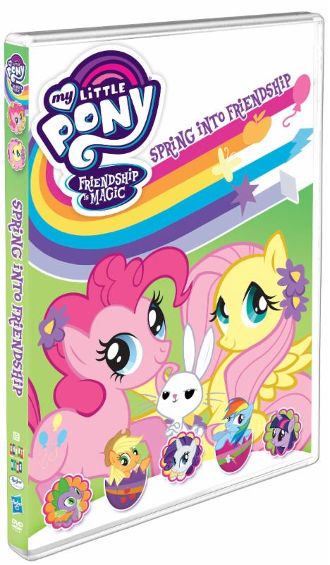 Enter the My Little Pony – Friendship Is Magic DVD Giveaway. Ends 2/5