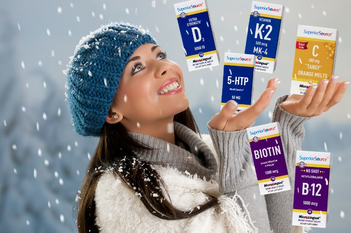 Stay Healthy this Winter with Superior Source Vitamins #SuperiorSource
