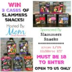 Enter to #Win 3 Cases of Slammers Snacks