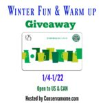 Winter Warm Up Giveaway with Starbucks!