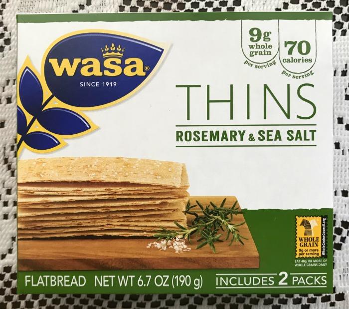 Wasa Thins Rosemary and Sea Salt