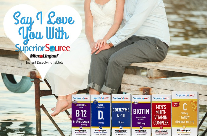 Say I Love You with Superior Source Vitamins and the Gift of Health #SuperiorSource