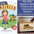 #Win Ellie, Engineer Book and DIY Toolbox