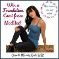 #Win a ModBod Foundation Cami of Choice