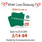 Winter Warm Up with Starbucks Giveaway