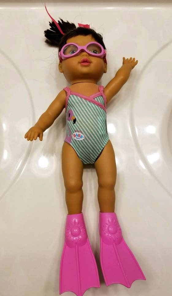 Baby Born Mommy Look I Can Swim Baby Doll Now Available