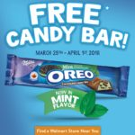 Free OREO Chocolate Candy Bar at Walmart – March 29-April 1st #OREOChocolate #CollectiveBias