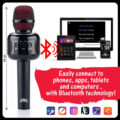 Wireless Bluetooth Karaoke Microphone w/ Disco Ball, & Carrying Case Giveaway