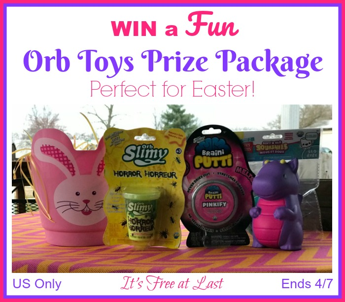 Win an Orb Toys Prize Package Perfect for Easter Baskets!