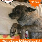 Win a Set of PeachSkinSheets in your choice of size and color! #GiftsforMom18