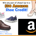 Win a $50.00 Shoe Credit To Amazon