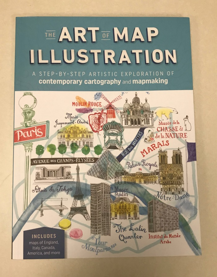 The art of map illustration by quarto books teaches mapmaking skills in the art of map illustration four well known artists take you on a journey through their unique techniques to mapmaking with a range of media gumiabroncs Gallery
