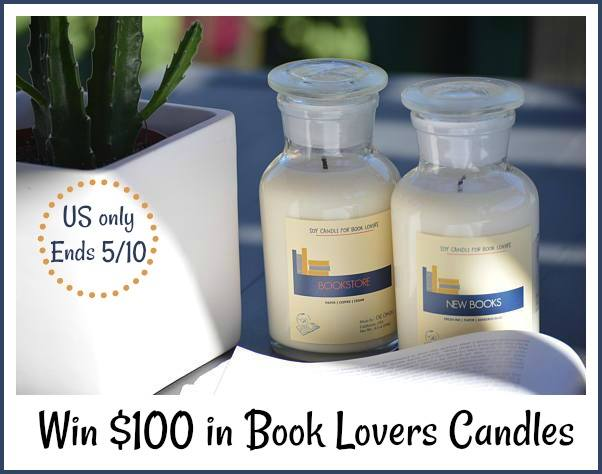 Book Lovers Candles Giveaway