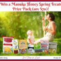 Win a Manuka Honey Spring Treats Prize Pack (arv $70) #ManukaHealth #ShopPRI