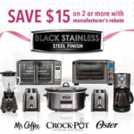 Save $15 on 2 or More Black Stainless Steel Suite Products #SaveOnMothersDay #Cbias #ad