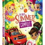Nickelodeon Favorites: Great Summer Campout! Available on DVD June 12th