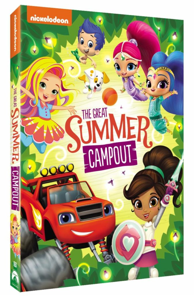 Nickelodeon Favorites Great Summer Campout Available On