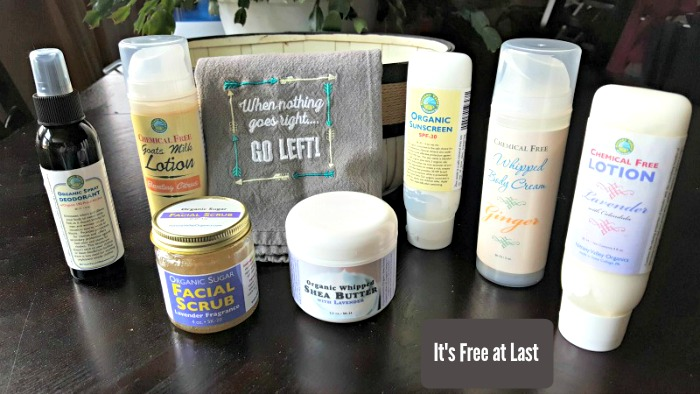 Win a gift basket from Nittany Organics