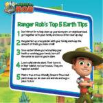 Ranger Rob's Top 5 Earth Day Tips #EarthDay2018 #RangerRob